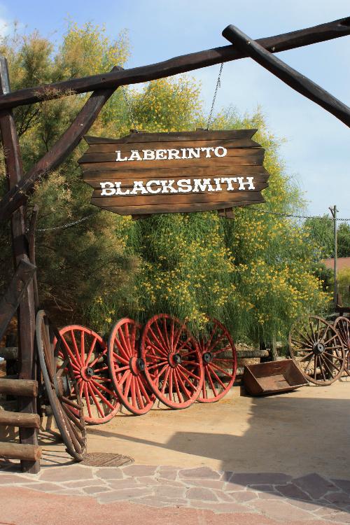 Attraction Port Aventura : Laberinto Blacksmith (© Espagne-Facile.com)